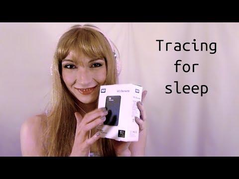 ASMR Tracing for Sleep ♥ deutsch, german, binaural