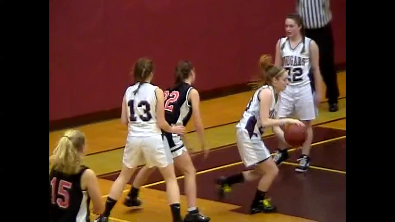 NCCS - Plattsburgh JV Girls  1-15-10