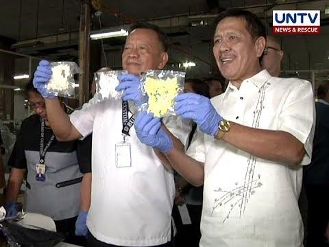 P3-M halaga ng illegal drugs, nasabat ng BOC sa Central Mail Exchange Center, Pasay City