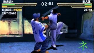 Def Jam Fight NY The Takeover: Drunken Kung Fu Style vs Blaze (Method man)