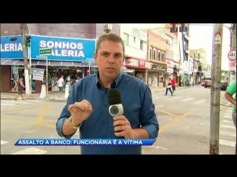 Jovem morre em assalto a banco no ABC Paulista