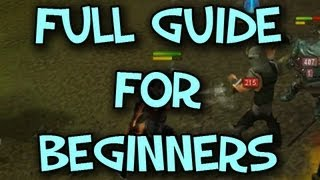 Runescape FULL Evolution of Combat Guide for Beginners   By Anarchy Time