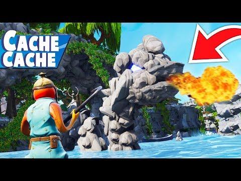 CACHE CACHE MAP DRAGON !! FORTNITE CRÉATIF !