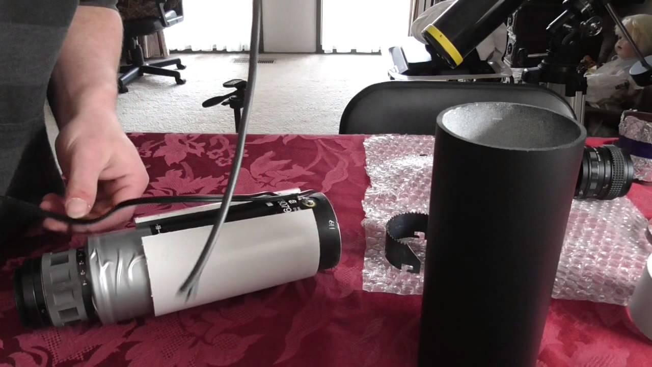 DIY night vision telescope by NVD skywatcher