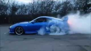 Toyota Supra 2JZ Single Turbo 2 Step Anti Lag Burnout