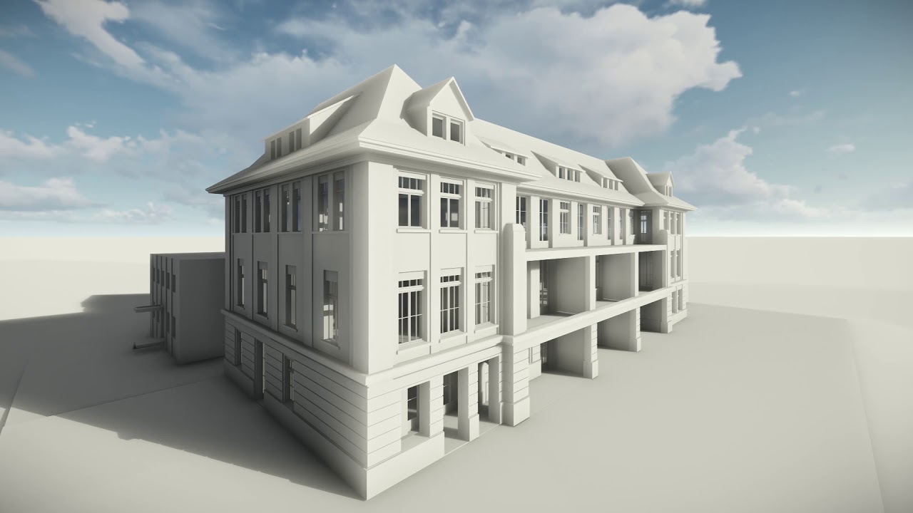 Architecture Photogrammetry Scan To BIM Revit 3D Model