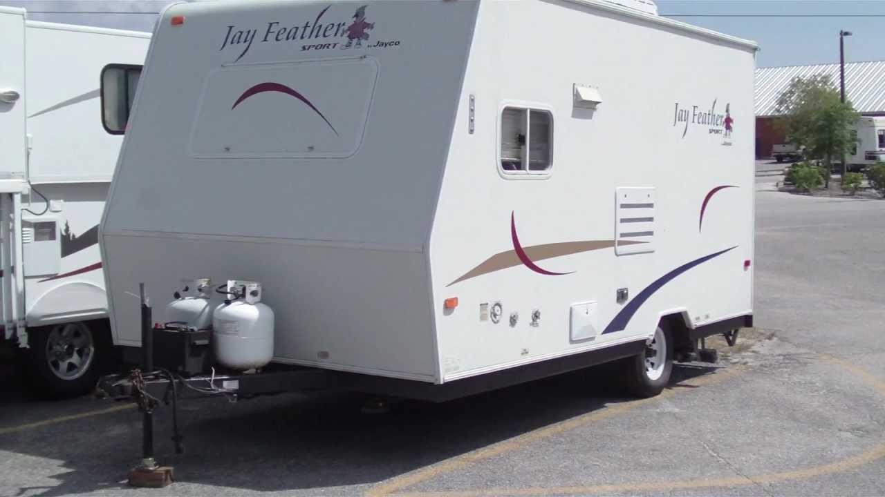 Luxury 2011 Jayco Jay Feather Sport 165 Travel Trailer Stock 6100