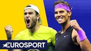 Samenvatting Rafael Nadal - Matteo Berrettini (US Open)