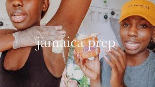 How I packed AND HOW I WAX for Jamaica