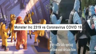 Monster Inc 2319 scene predicted COVID-19