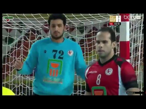 Egypte VS Maroc CAN Handball 2016