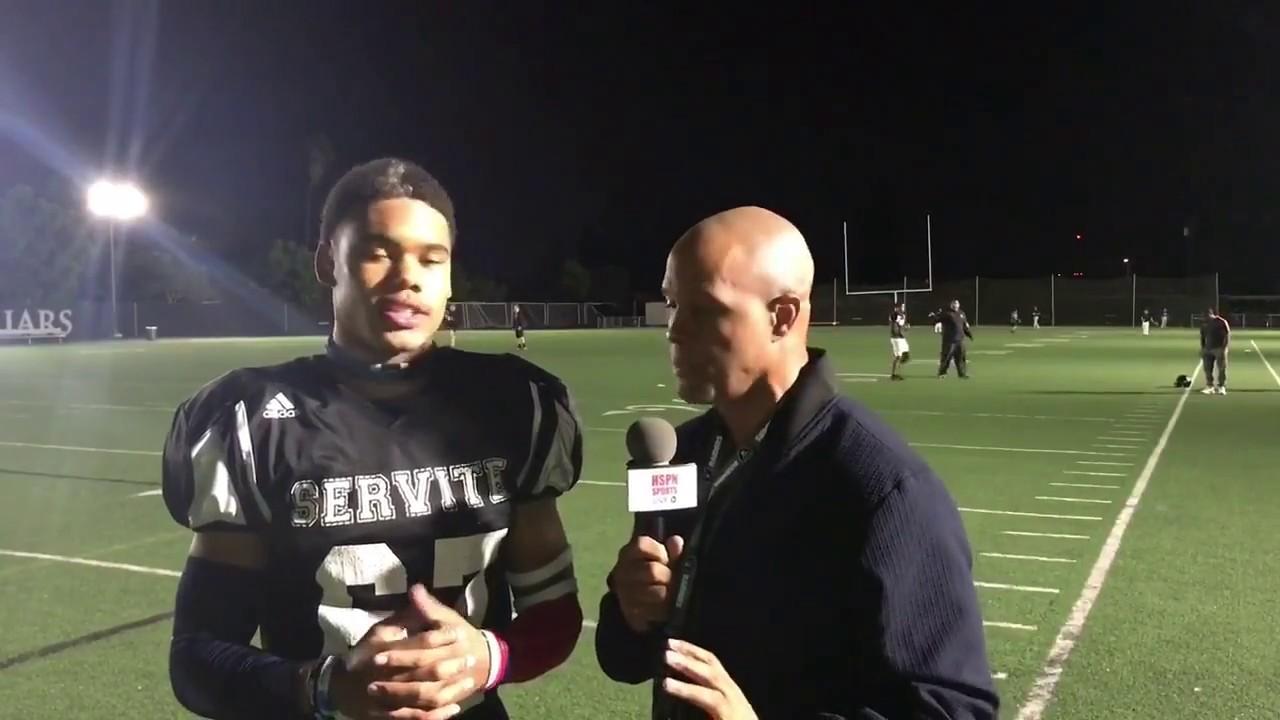 Julius Irvin Wr Db Servite Hs Part 1 Live High School Football