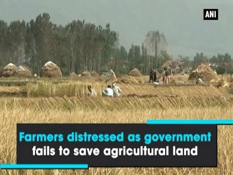 Farmers distressed as government fails to save agricultural land - ANI News