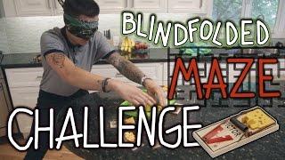Blindfolded Maze Challenge