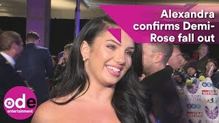 Love Island's Alexandra confirms Demi-Rose fall out