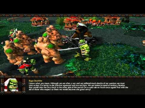 Warcraft 3 Custom campaign Bagos Quest part 1 Ogre's need help