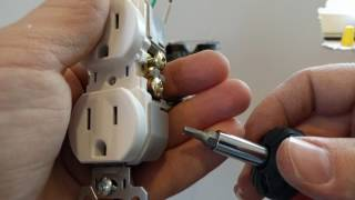 How To Install a Standard TR Receptacle Using Pigtails