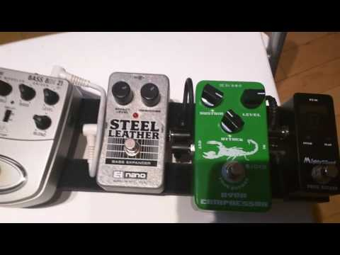 Must have bass effects pedal under 250$