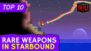 Repeat youtube video All-Time Top 10 Rare Weapons in Starbound