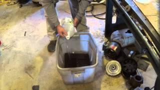 """Rockwell Drill Press Restoration #3  """"rust Removal"""""""