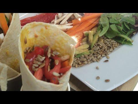 recette-:-wraps-d'houmous