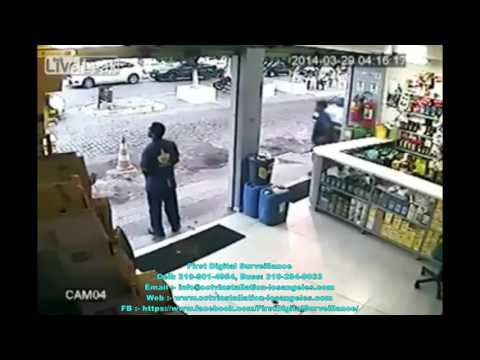 CCTV caught cold blood murder | Home security Los Angeles | FDS