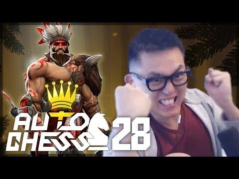 10%. Last Place. The Comeback Dream?? | Amaz Auto Chess 28