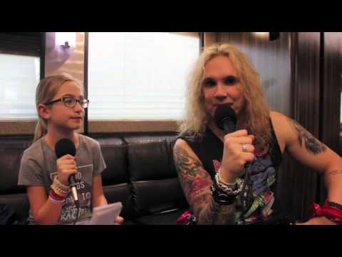 Piper interviews Michael Starr (Steel Panther)