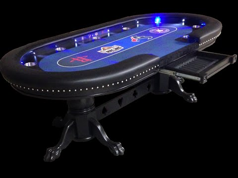 Custom Poker Tables With a Sports Theme #2