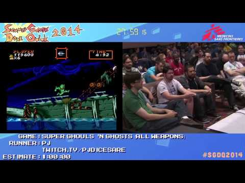 Super Ghouls 'N Ghosts By PJ In 50:00 - SGDQ2014 - Part 93