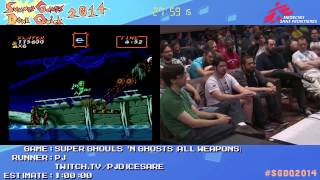 Summer Games Done Quick 2014 - Part 93 - Super Ghouls 'N Ghosts