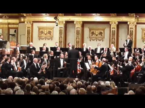 Curtain callMariss Jansons & Wiener Philhamoniker