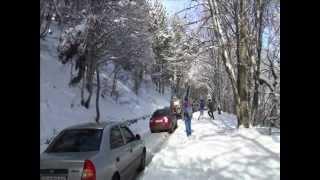 Дорога на Ай-Петри зимой