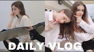 DAILY VLOG one day with me! Meeting with Elina, shopping with friends, shooting for MISSHA & GAN