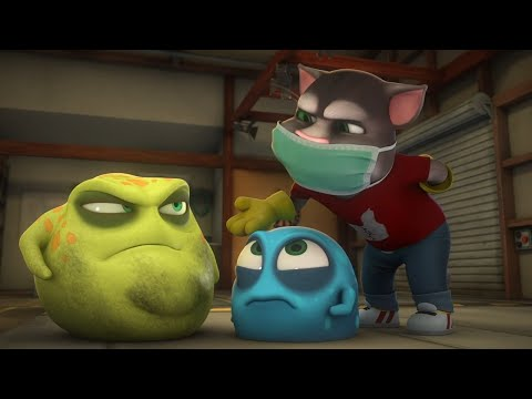 The Bad Germ - Talking Tom and Friends | Season 4 Episode 18