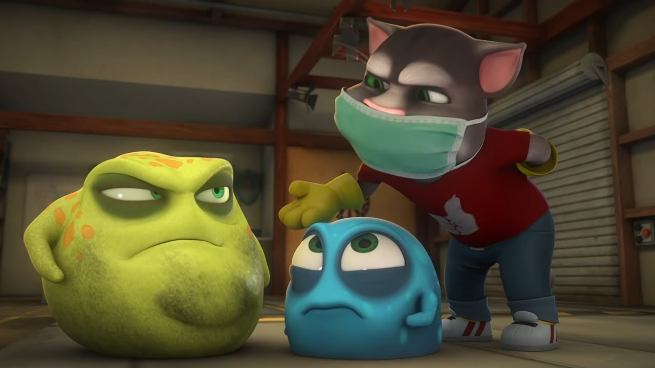 Download The Bad Germ - Talking Tom & Friends | Season 4 Episode 18