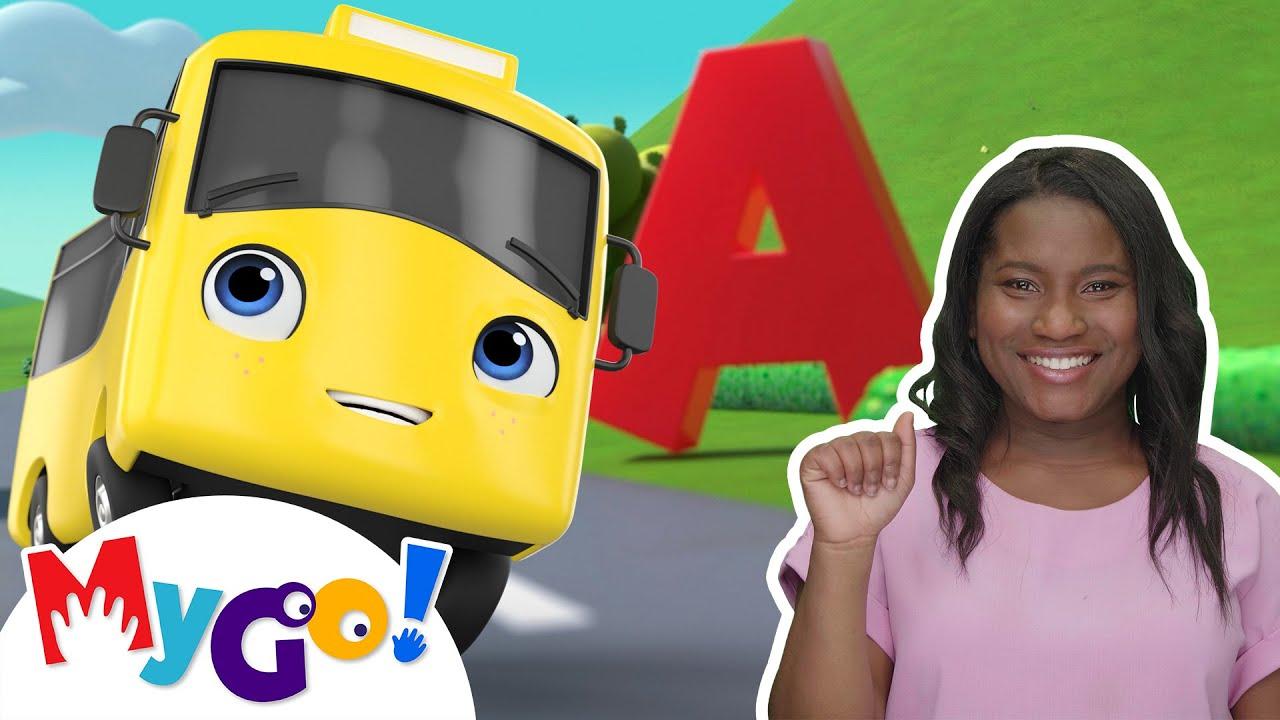 ABC Song | Sign Language For Kids | Kids Cartoon | Little Baby Bum | ASL