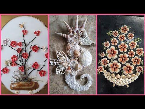 Beautiful Sea Shell Craft Ideas