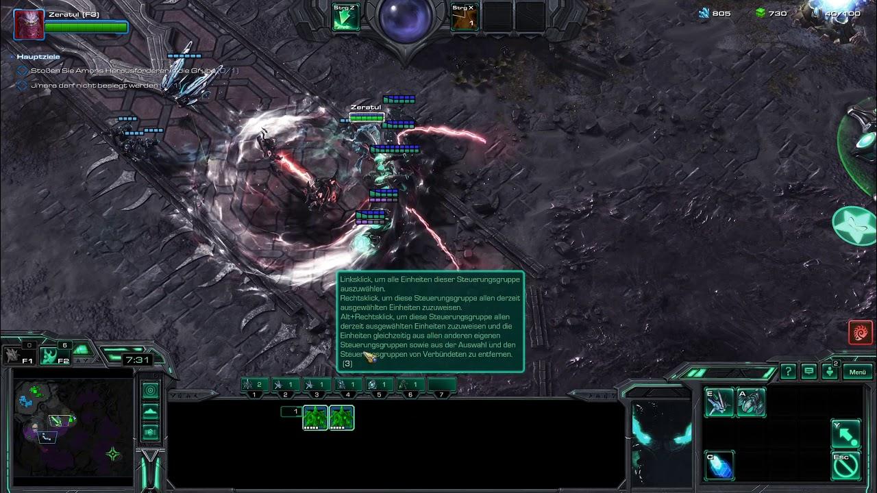 Starcraft 2 - Coop - Brutal Random - Leveling