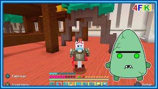Bof se convierte en Forky Toy Story - minecraft