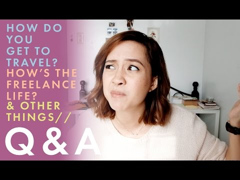 Q&A: Freelance Life, How I Get to Travel & Other Things | Camie Juan