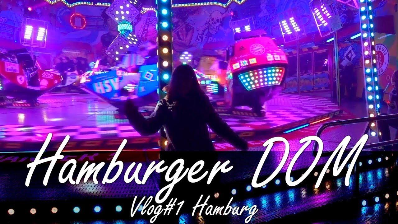 AMBURGO, Il più grande Luna Park della Germania,  Vlog#1 - Life in Hamburg