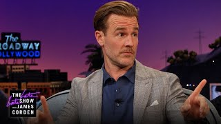 Why Won't James Corden Go Camping with James Van Der Beek?