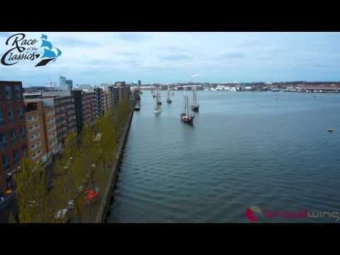 Luchtopname Race of the Classics in Amsterdam