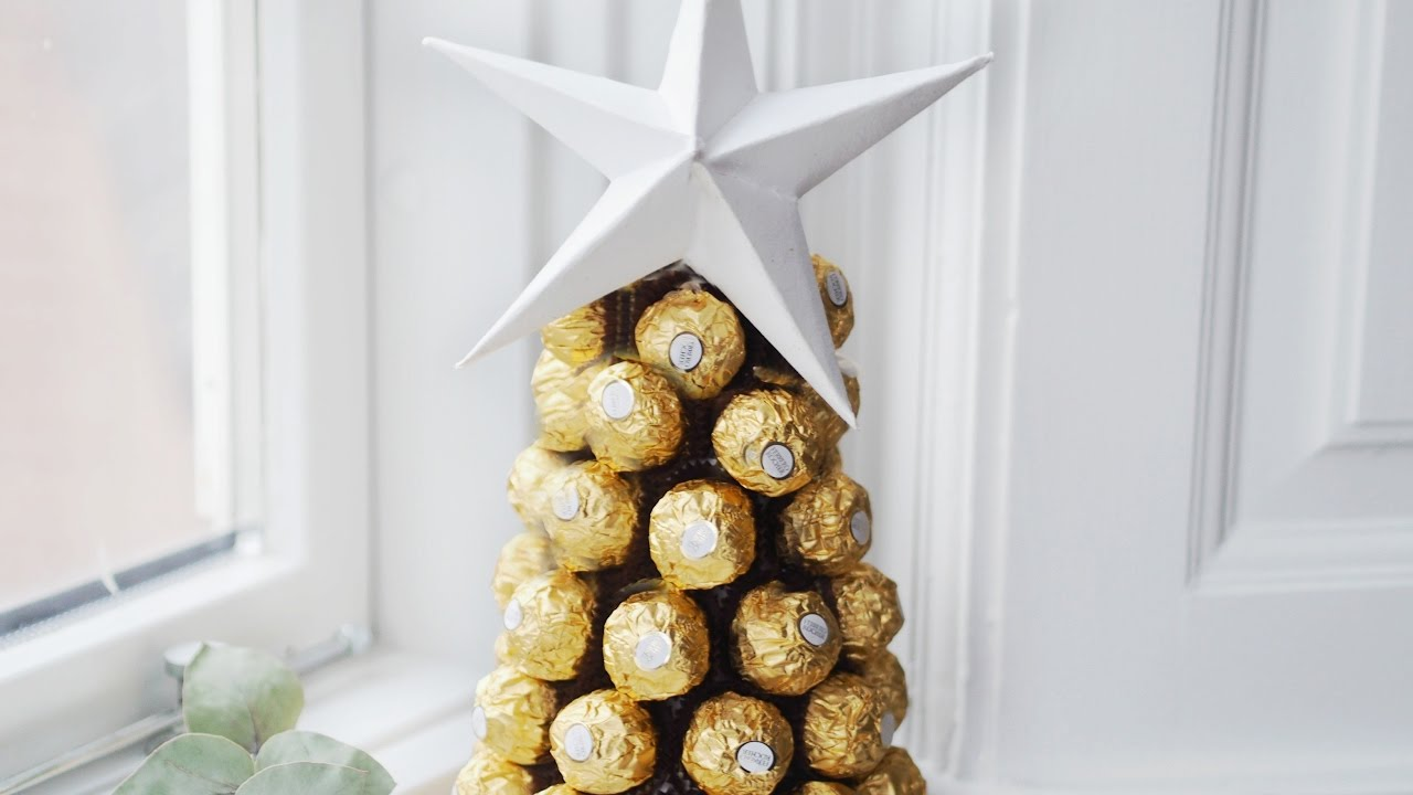 Diy Creative Gift Idea With Ferrero Roche Youtube