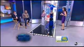 The Undress on Good Morning America- Shark Tank Your Life Fashion Face Off