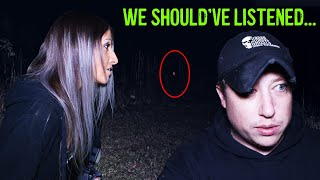 (Ghost Hunt Gone Terribly Wrong) Were They Hunting Us?!?
