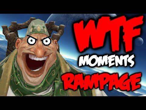 Dota 2 WTF Rampage Compilation 6