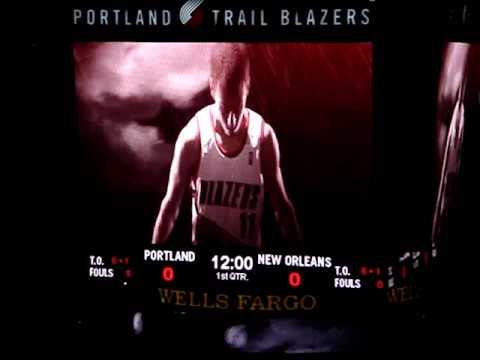Portland Trail Blazers Intro