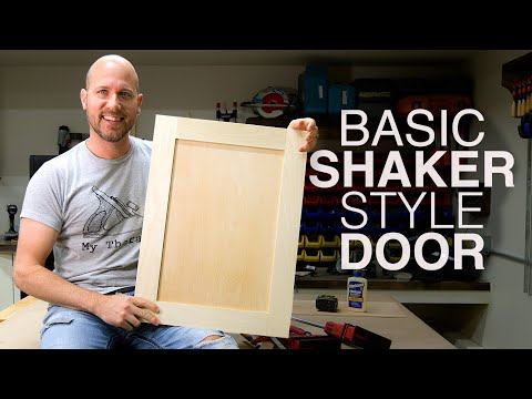 build-shaker-cabinet-doors-with-table-saw-|-new-to-woodworking?
